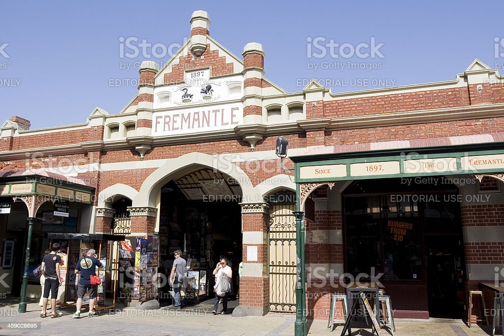 Fremantle Markets stock photo