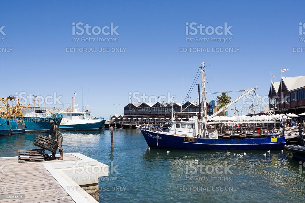 Fremantle Restaurants stock photo