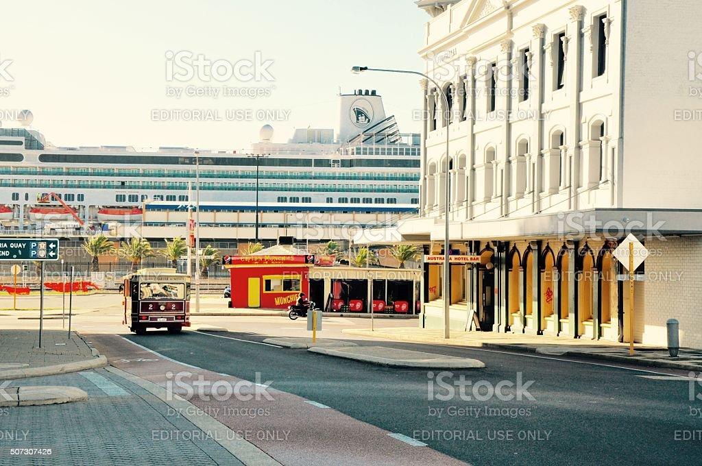 Fremantle Scene: Western Australia stock photo