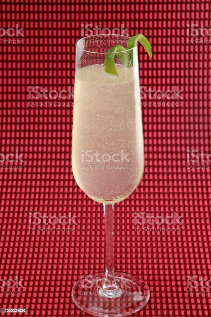 French 75 stock photo
