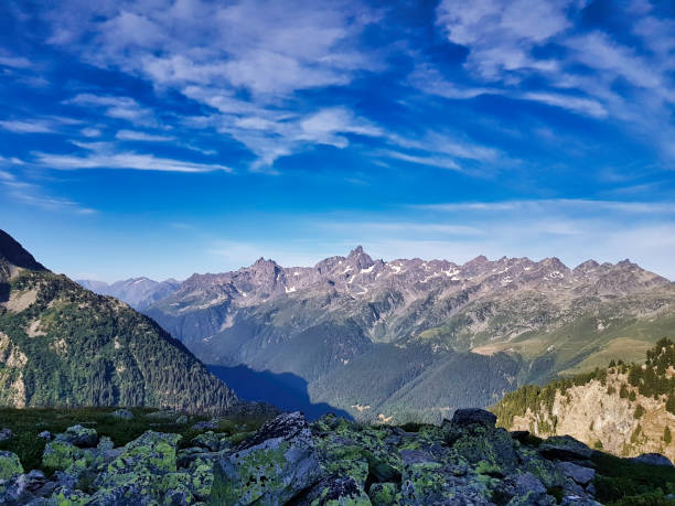 French Alps - Belledonne stock photo