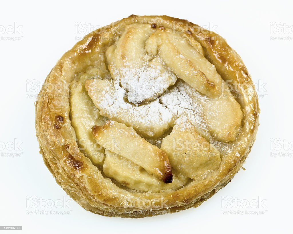 French Apple Pie royalty-free stock photo