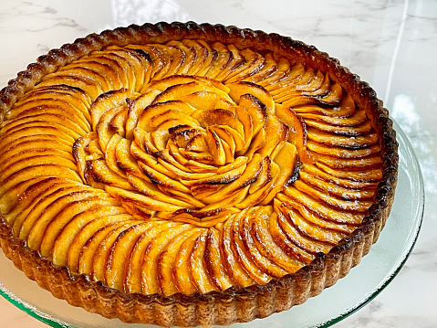 French Apple Tart Dessert