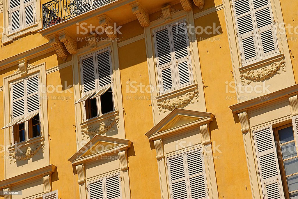 French Architecture royalty-free stock photo