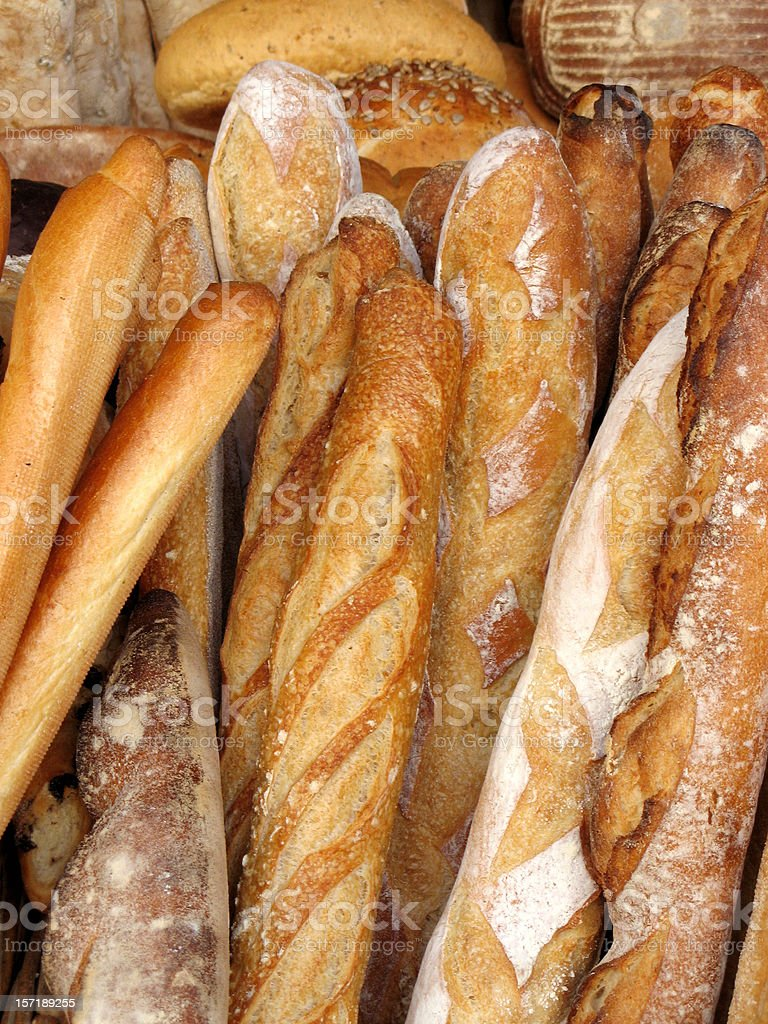 French baguettes! stock photo