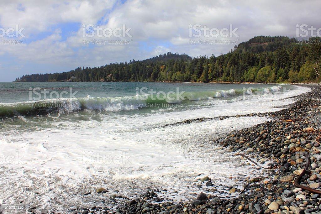 French Beach stock photo