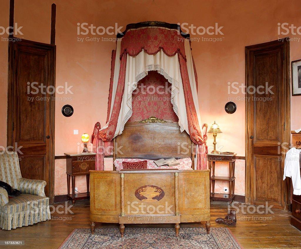 french Bedroom stock photo
