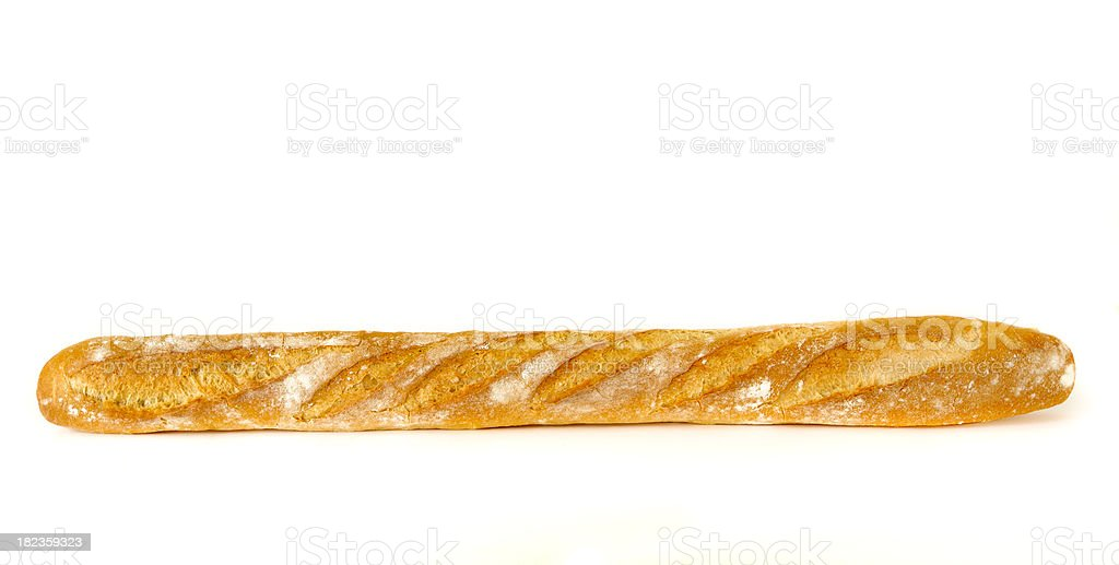 French Bread Baguette royalty-free stock photo