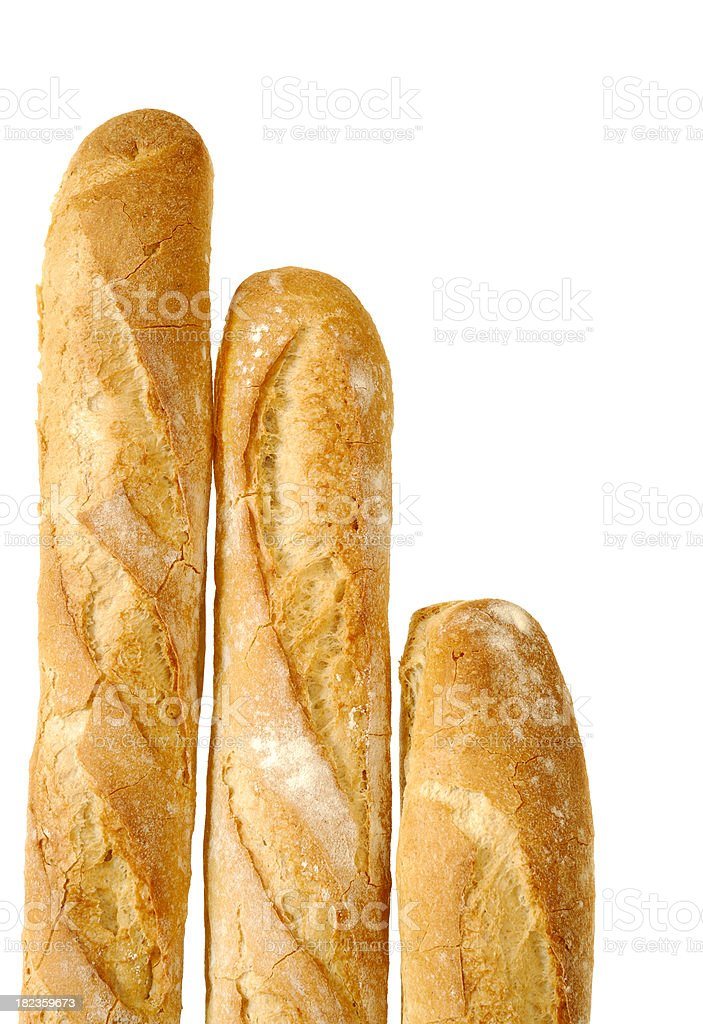 French Bread - Baguettes royalty-free stock photo