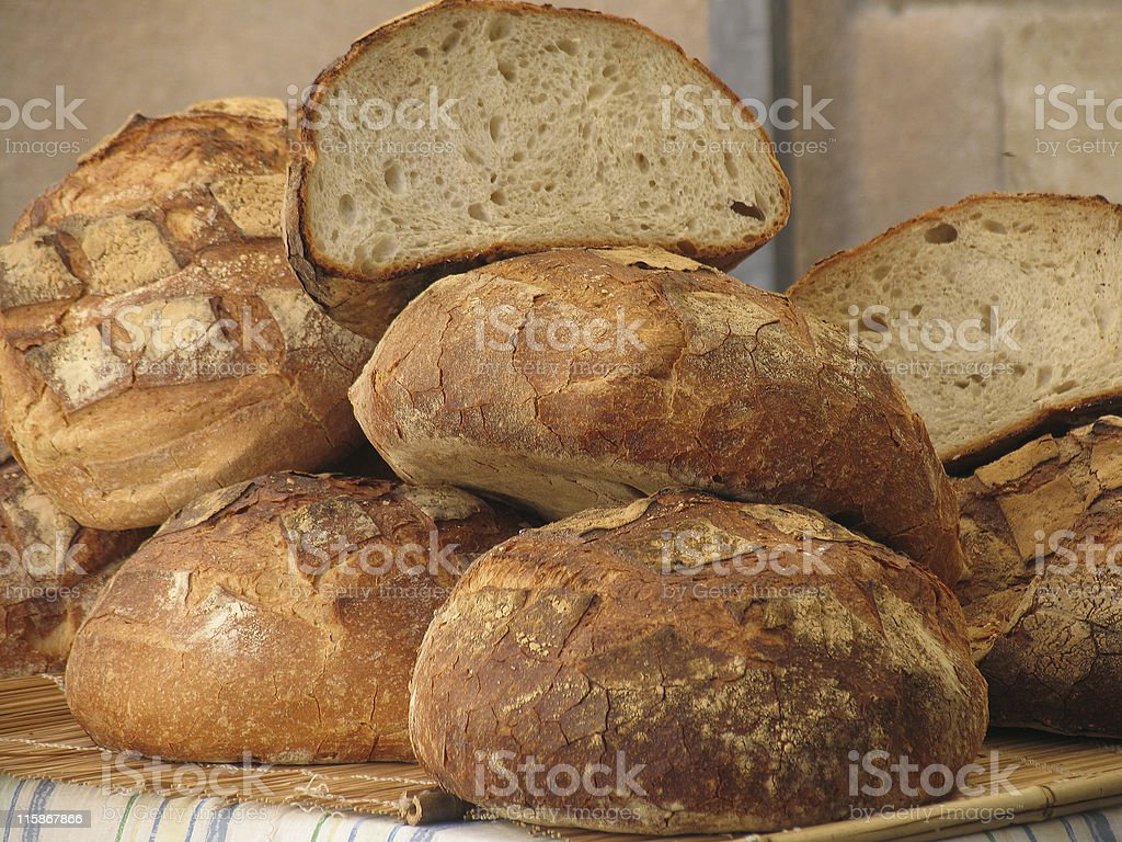 French bread royalty-free stock photo