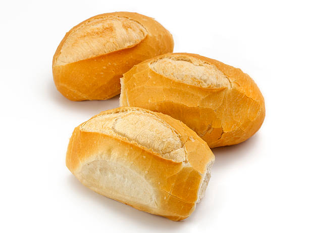 French bread roll group diverse french breads in group french culture stock pictures, royalty-free photos & images