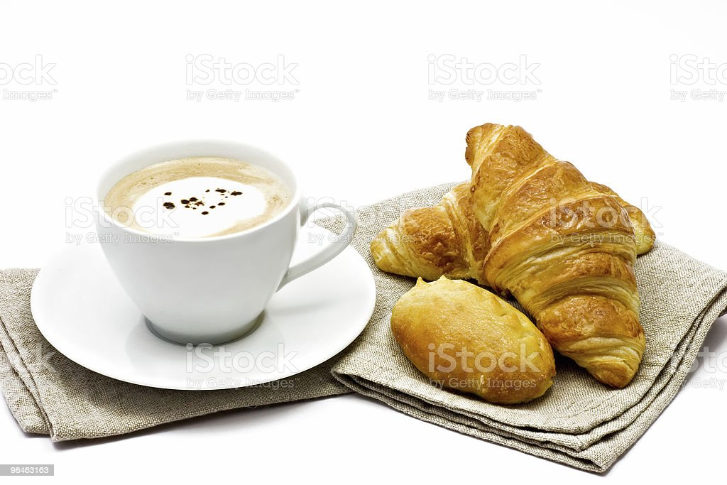 French breakfast royalty-free stock photo