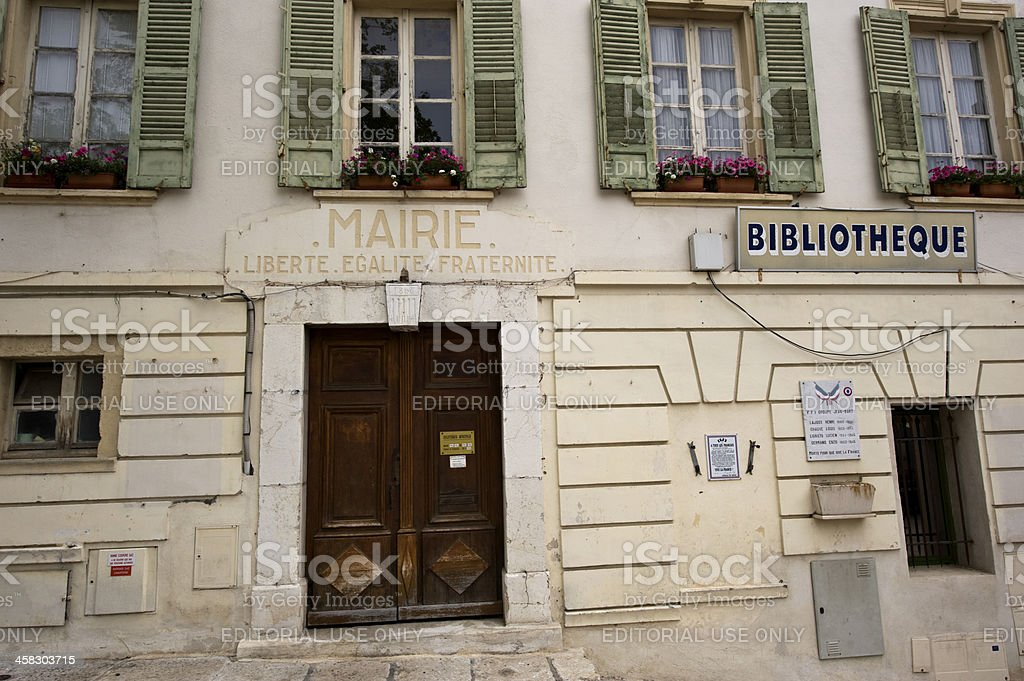 French building stock photo