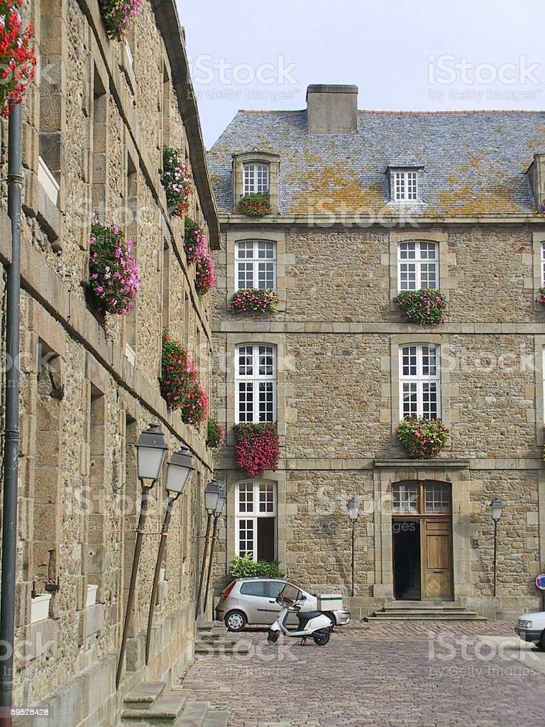 French Buildings royalty-free stock photo
