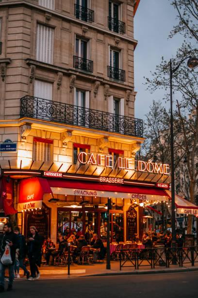 Französische Café-Terrasse – Foto