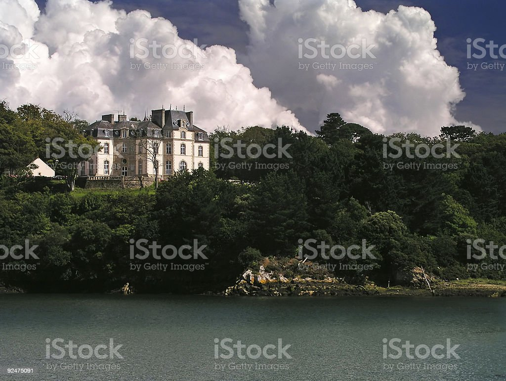French Cahteux royalty-free stock photo