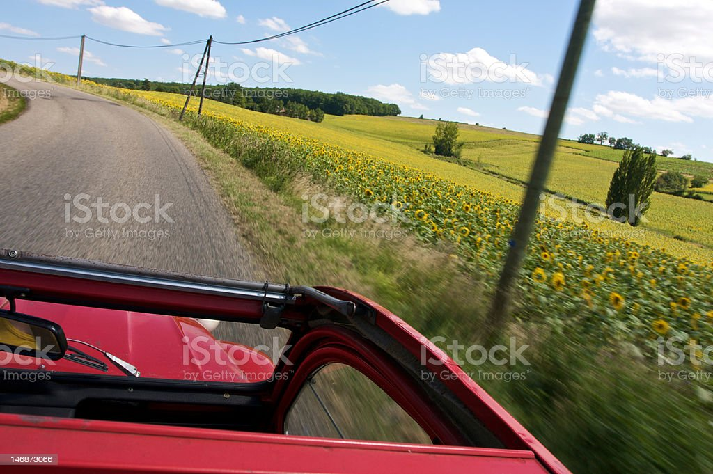 French car stock photo