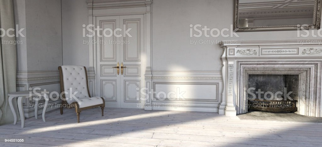 French Chateau Bedroom Stock Photo - Download Image Now - iStock