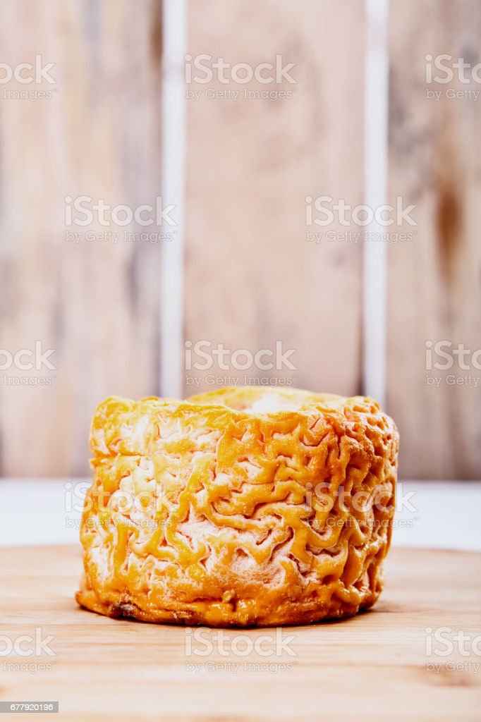french cheese - langres royalty-free stock photo