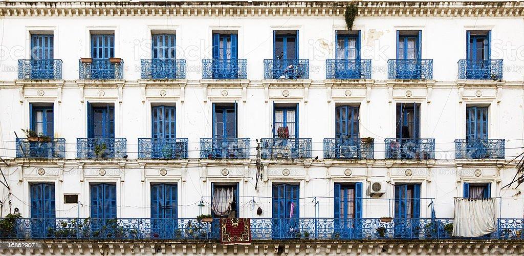 Bâtiment de style colonial français à Alger - Photo