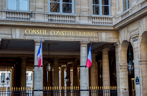 istock French Constitutional Council - Paris, France 1131543786
