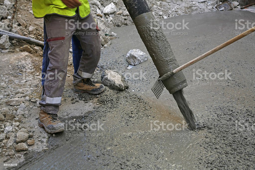 French construction workers royalty-free stock photo
