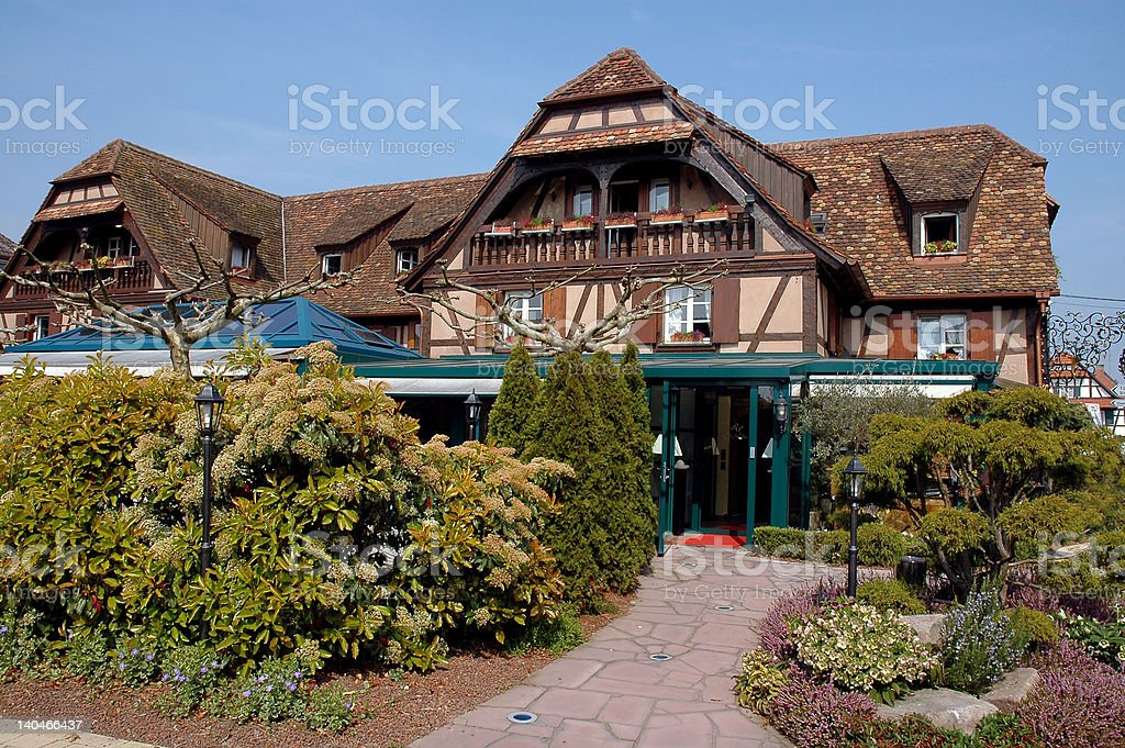 French Country Inn royalty-free stock photo