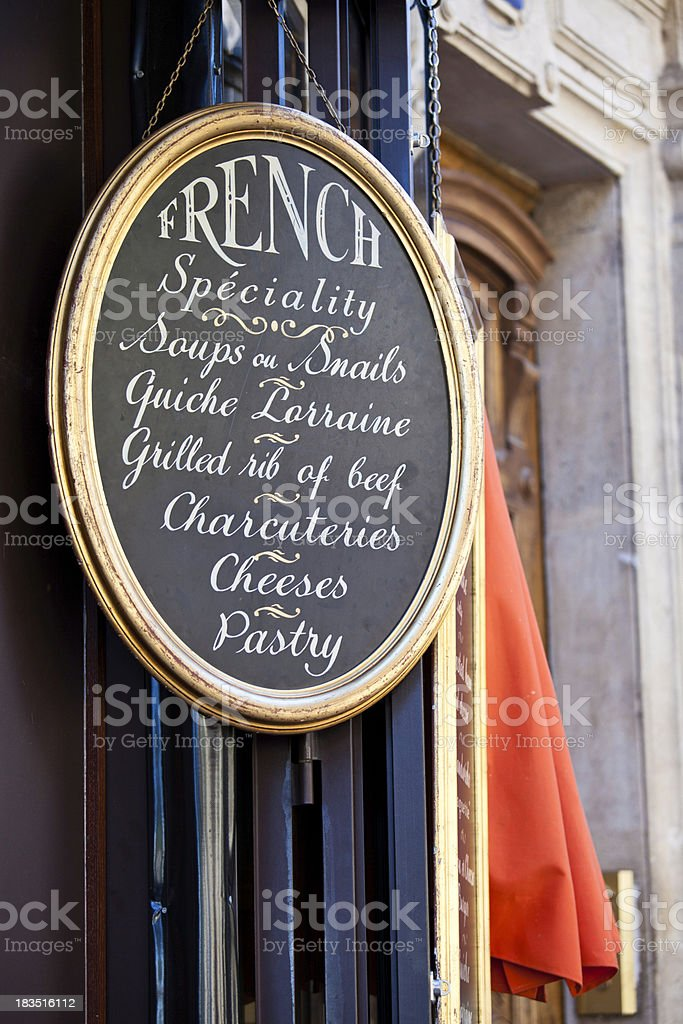 French Cuisine royalty-free stock photo