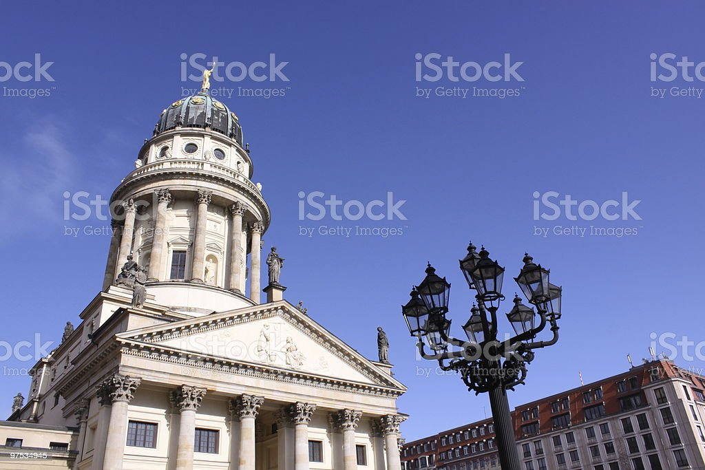 French Dom Berlin royalty-free stock photo