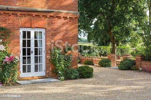 istock French doors on a house 1175293625
