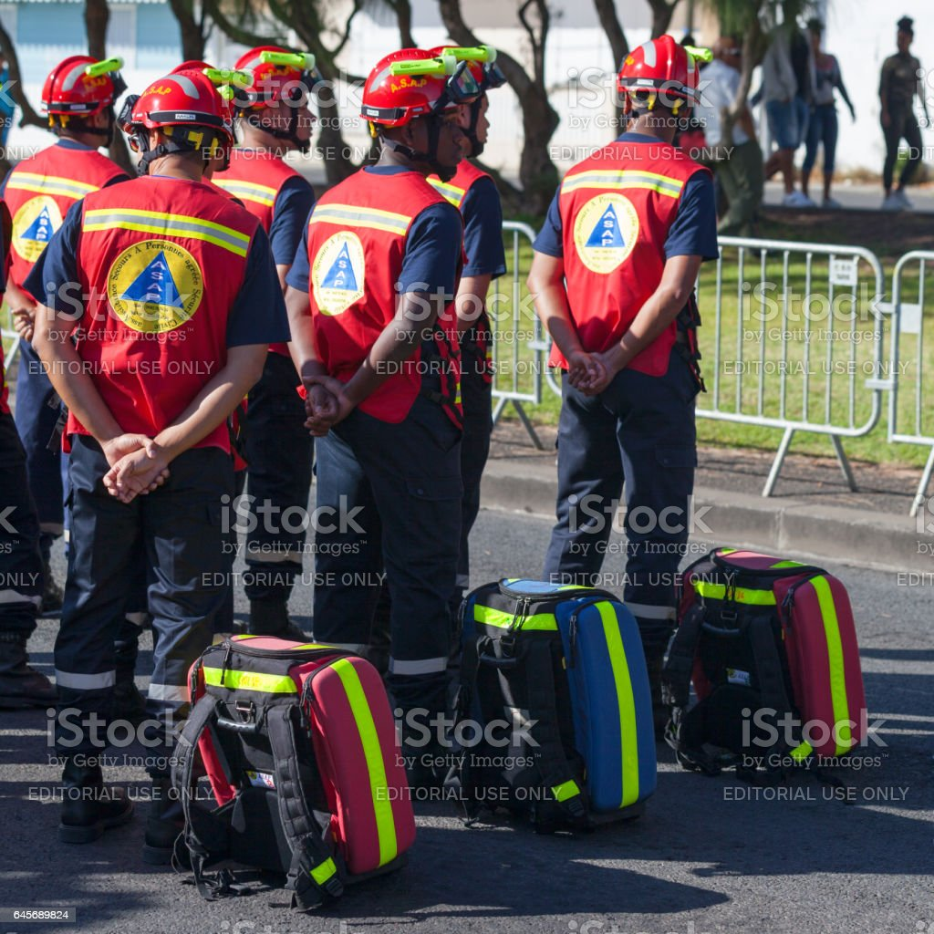 French First Responder - ASAP stock photo