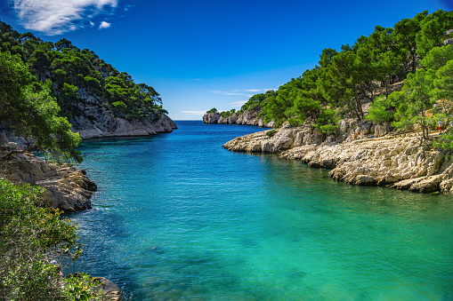 istock French fjords,Calanques national park, Calanque d'En Vau bay, Cassis, France, Europe 1215291855