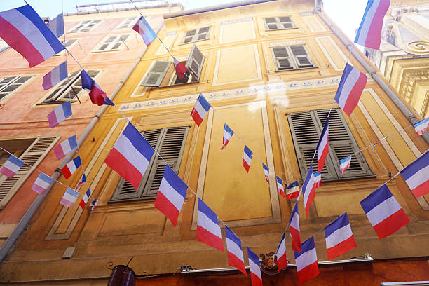 French flag bunting - Photo
