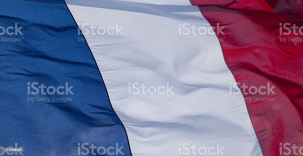 French flag stock photo