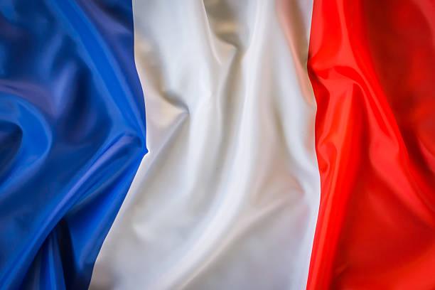 Französische Flagge  – Foto