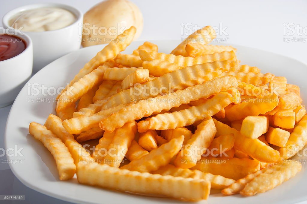 French Fries - Fast Food stock photo