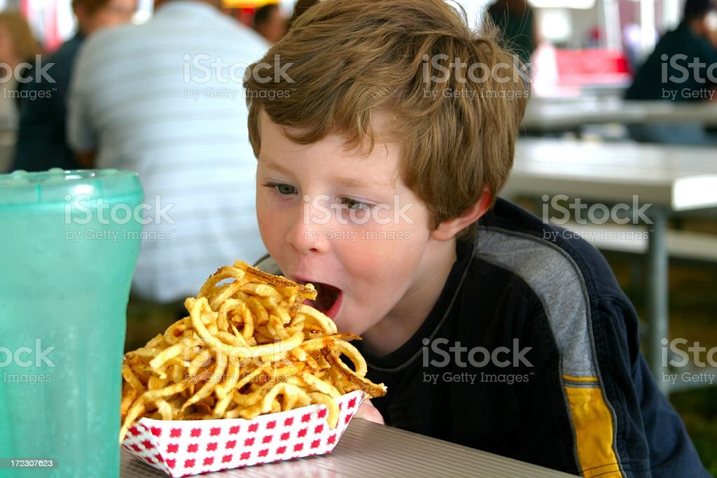 French Fries royalty-free stock photo