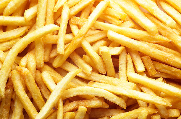 patatine fritte - patatine foto e immagini stock