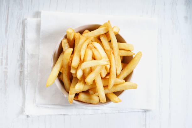 french fries - patatine foto e immagini stock
