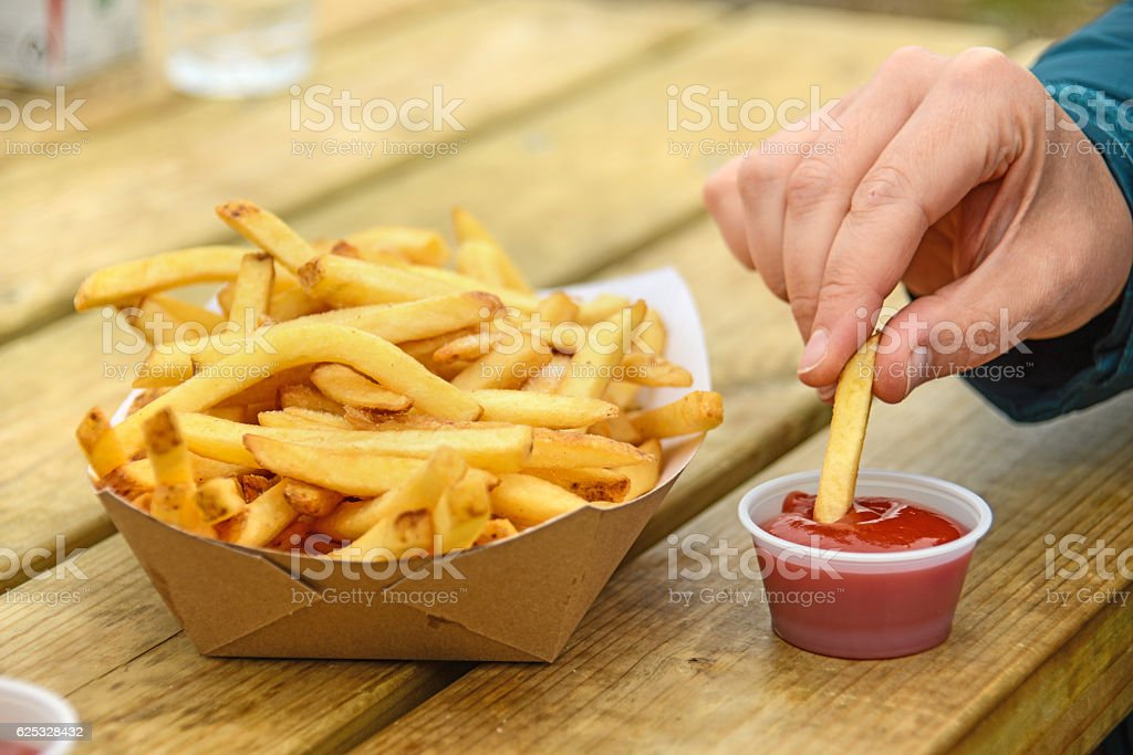 french fries pommes – Foto
