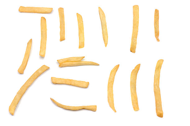 French Fry Samples stock photo