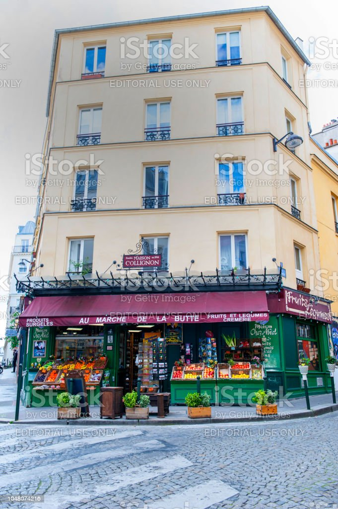 French Grocery Store Stock Photo - Download Image Now - iStock
