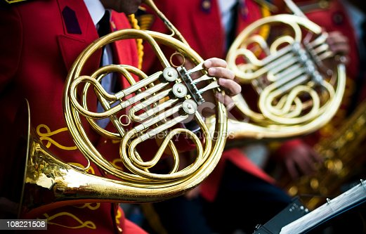 istock French Horns and red... 108221508