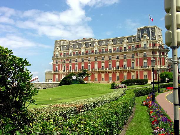 French Hotel stock photo