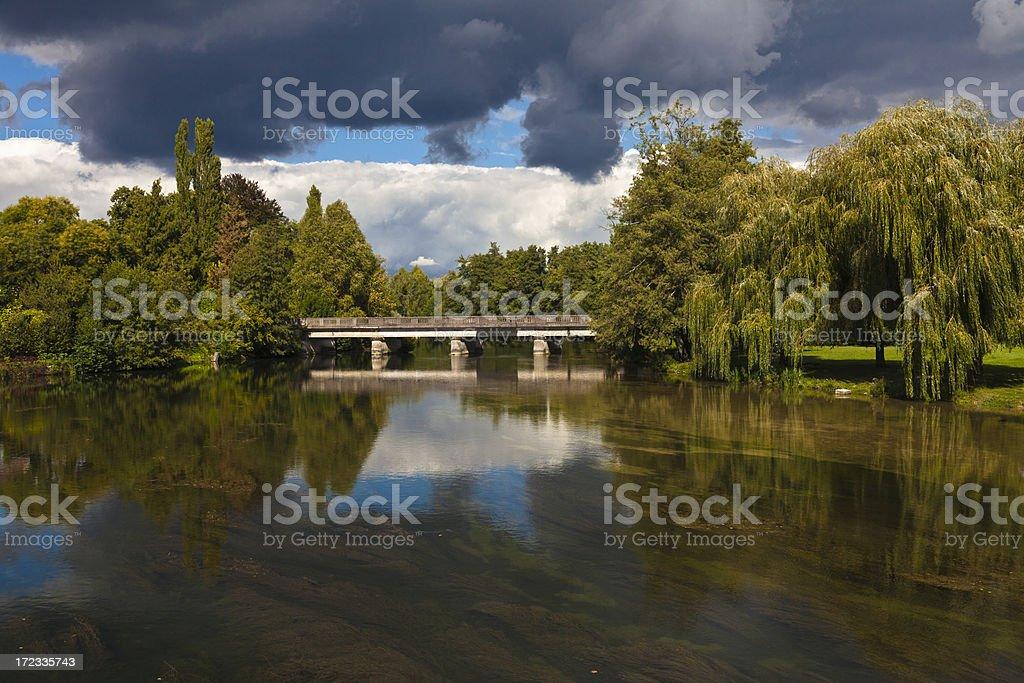 French landscape royalty-free stock photo