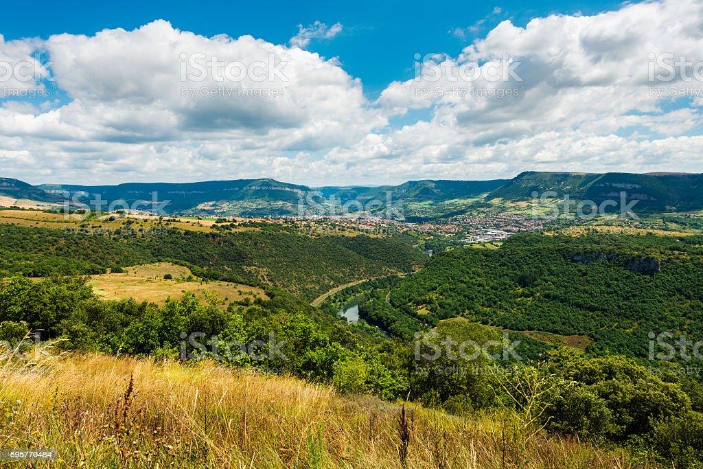 french landscape stock photo