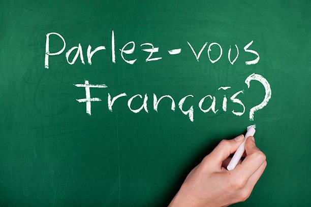 francês de aula - aula de idioma - fotografias e filmes do acervo