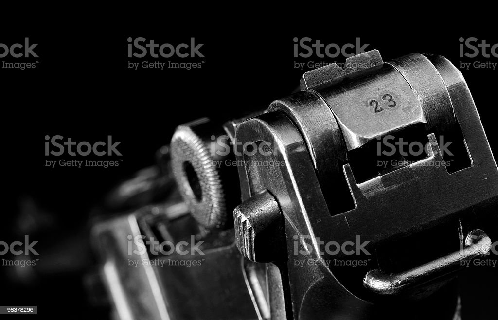 French Luger royalty-free stock photo