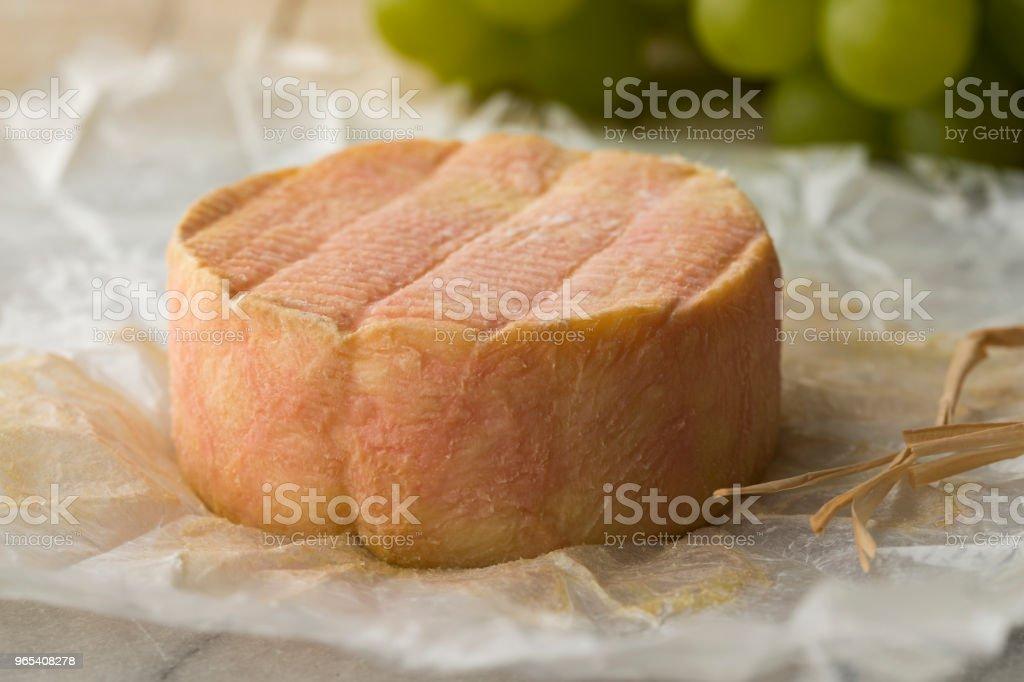French Marc de Muscat cheese zbiór zdjęć royalty-free