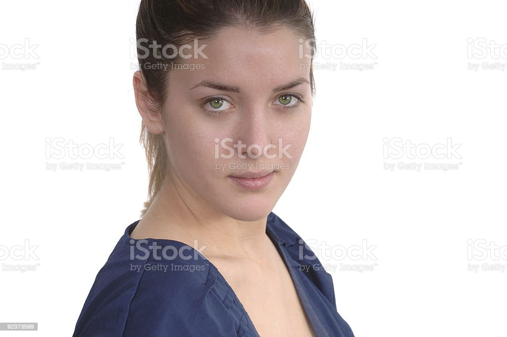 French Model royalty-free stock photo